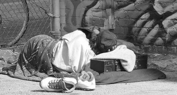 clochard povertà