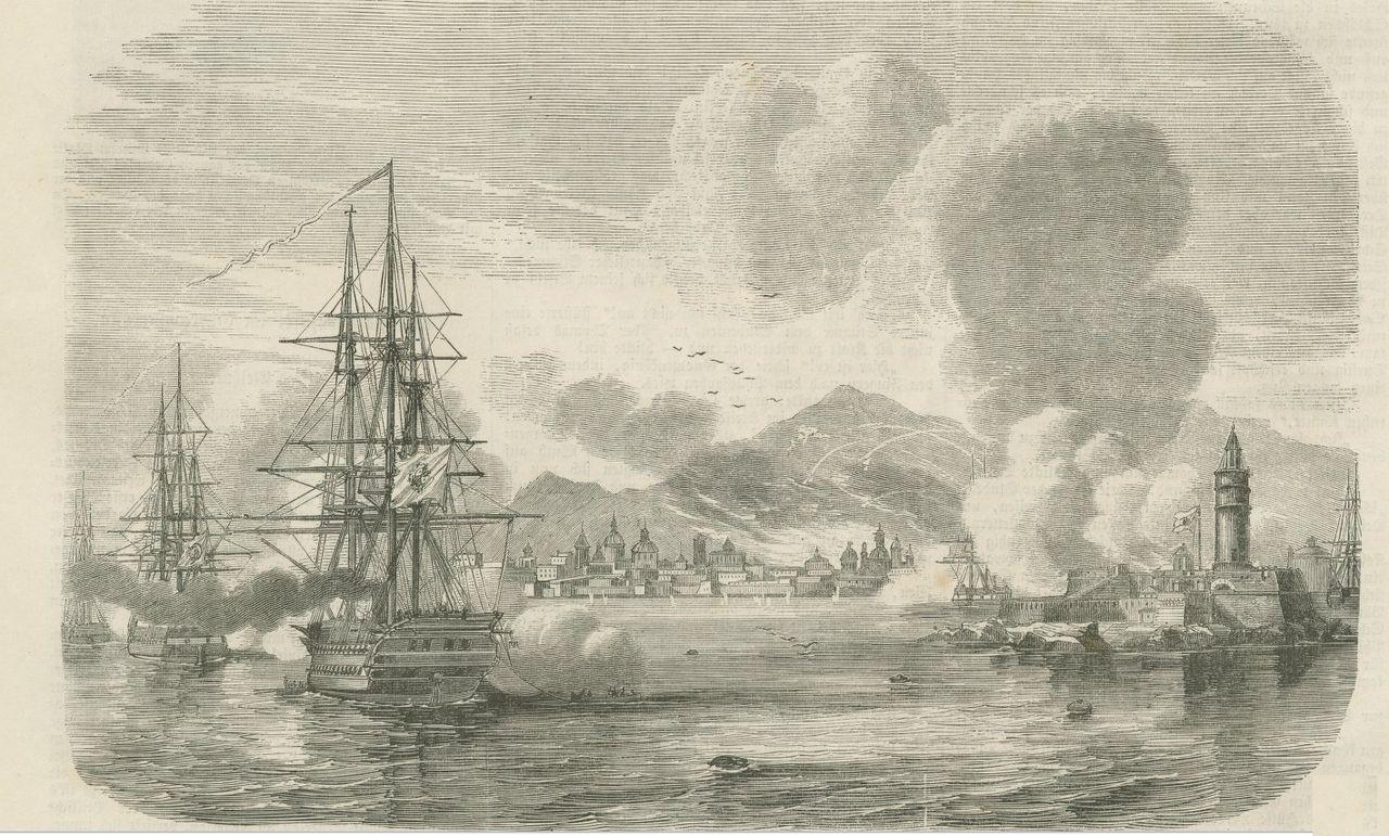 Bombardamento_di_Palermo_dai_Borbonici_1860