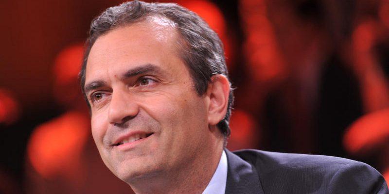 17/06/2014 Roma, trasmissione televisiva Ballarò, nella foto Luigi De Magistris, sindaco di Napoli