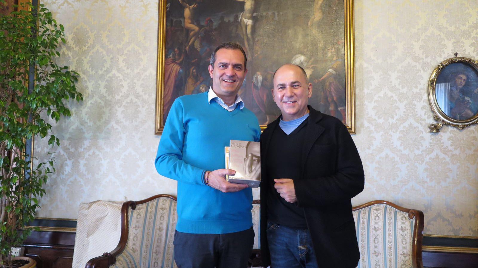 De Magistris incontra Ferzan Ozpetek