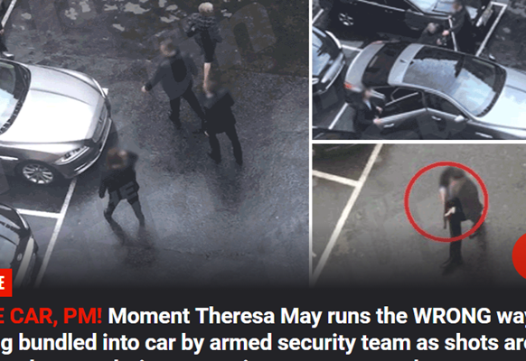 La fuga del premier May