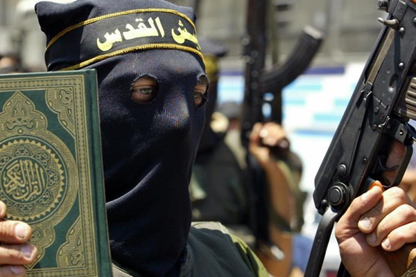 il jihadismo corano e pistola.