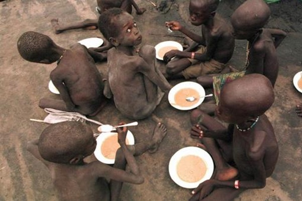 bambini fame morte