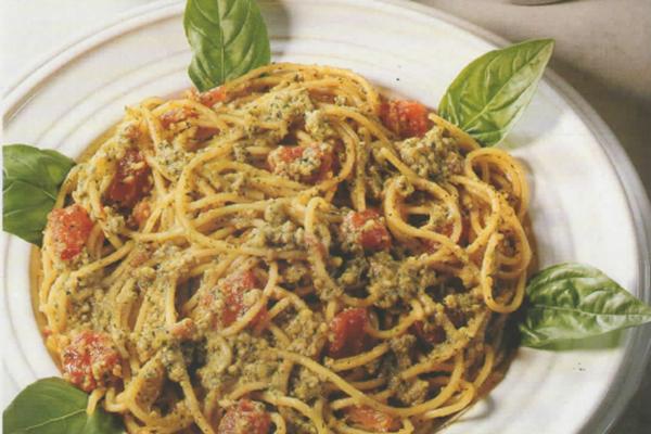 spaghetti mandorle