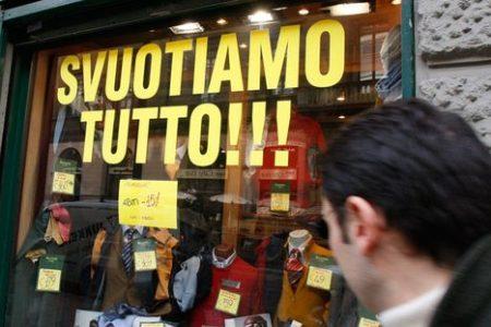 Commercio e turismo, nessuna ripresa nel 2014