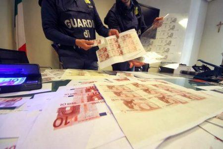 Scoperta a Quarto una stamperia di banconote di 50 euro false