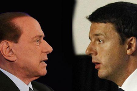 Renzi: non sono nelle mani di Berlusconi