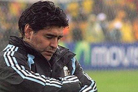 Aspettando la finale,  Maradona preoccupato per Messi