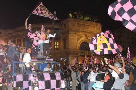Palermo in serie A, è qui la festa
