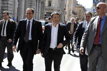 Il Sud in Prima Pagina. Il blitz di Renzi al Sud: basta promesse – Crocetta azzera il piano per i giovani – Bari, guerra contro i parcheggiatori abusivi