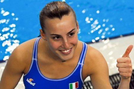La campionessa Tania Cagnotto a Scampia per vincere i pregiudizi