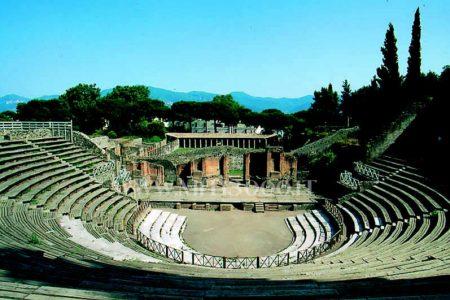 Pompei, segnali di ripresa: riapre il Teatro Grande