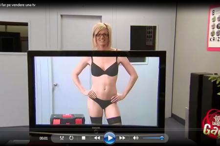 Video di una tv davvero molto particolare…