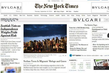 """La Puglia in prima pagina sul New York Times: """"Qui c'è la schiavitù…"""""""
