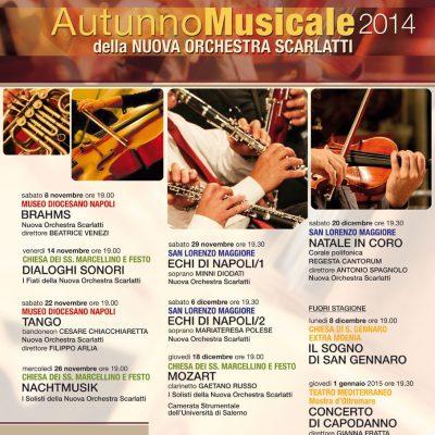 Al via l'autunno musicale della Nuova Scarlatti. Ecco il programma