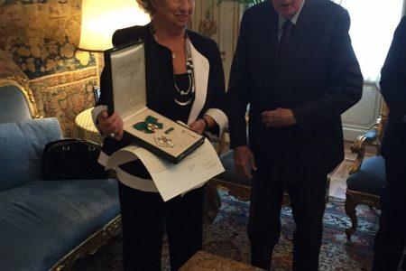 """Napolitano nomina Maria Falcone """"Grande Ufficiale al Merito"""""""