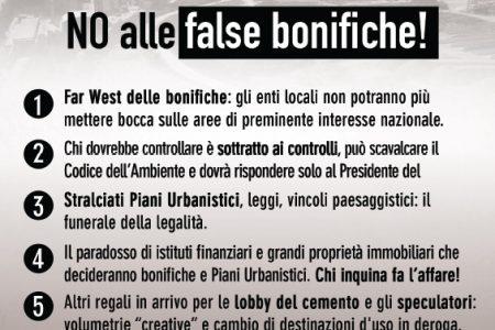 """Bagnoli, M5S in campo contro lo """"sfascia-Italia"""""""