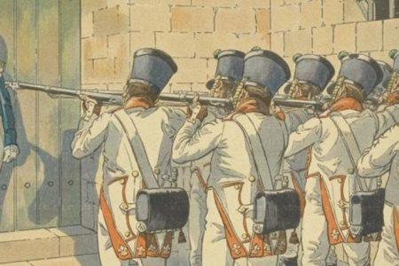 Accadde oggi nel Sud. 13 ottobre 1815. Gioacchino Murat, ex re di Napoli, fucilato a Pizzo per ordine di Ferdinando IV