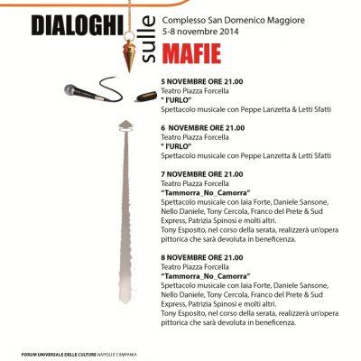Dialoghi sulle mafie a Napoli: quattro giorni di dibattiti. Si parte con Orlando, Sepe e d'Alessandro