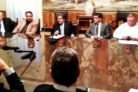 Dissesto idrogeologico, summit a Catania con Enzo Bianco