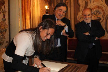 Campioni del Sud, Roberta Vinci cittadina onoraria di Palermo