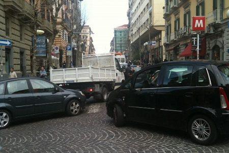 Napoli, caccia ai parcheggi-fantasma