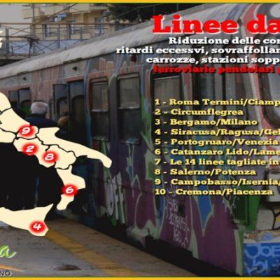 Treni lenti e nervi a pezzi, l'odissea dei pendolari: ecco le tratte del Sud dove si viaggia peggio
