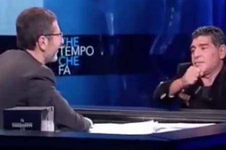 """""""Maradona ha offeso Equitalia"""", arriva la richiesta di rinvio a giudizio"""