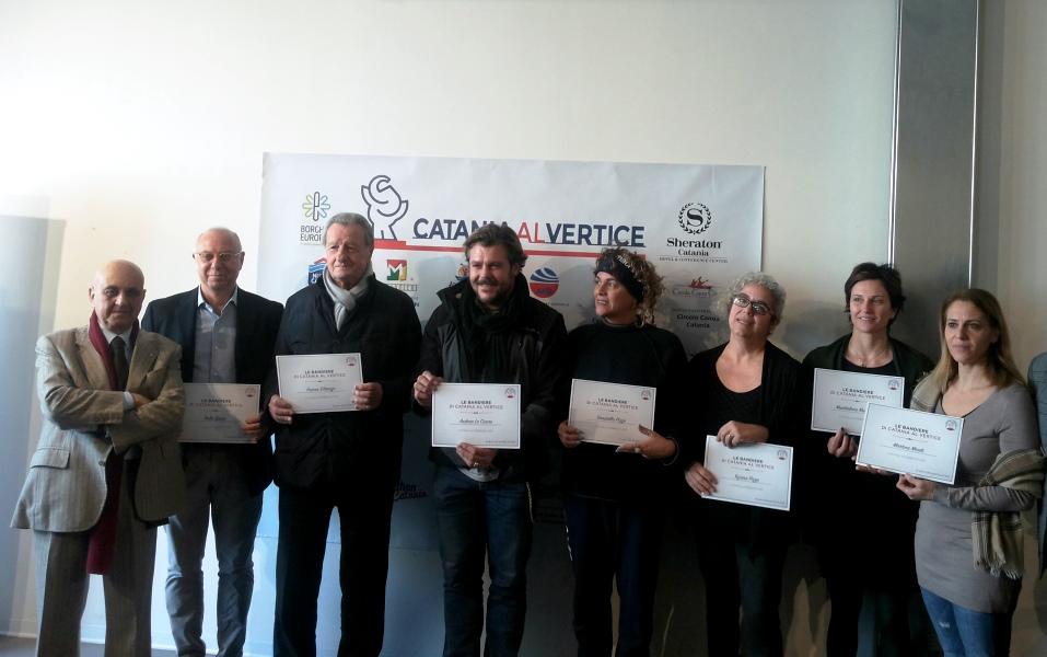 Catania al vertice, premiate le medaglie d'oro della città