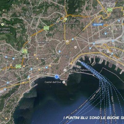 Napoli colabrodo, su Facebook la mappa delle buche pericolose