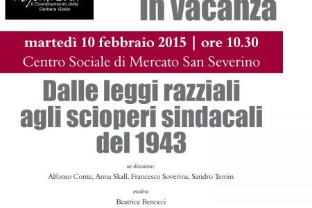 Università di Salerno: leggi razziali, comunicare per non dimenticare