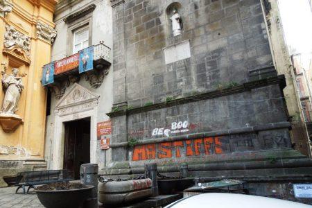 Graffiti selvaggi, il record a Napoli