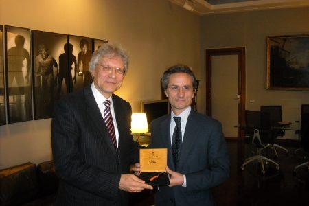 Caldoro incontra l'Ambasciatore russo