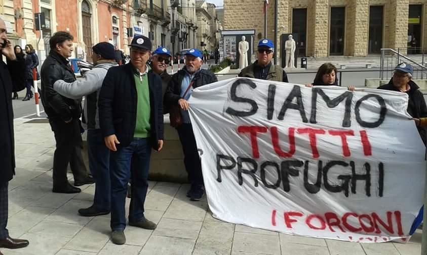 I Forconi, no al Durc e no alla Cassa edile