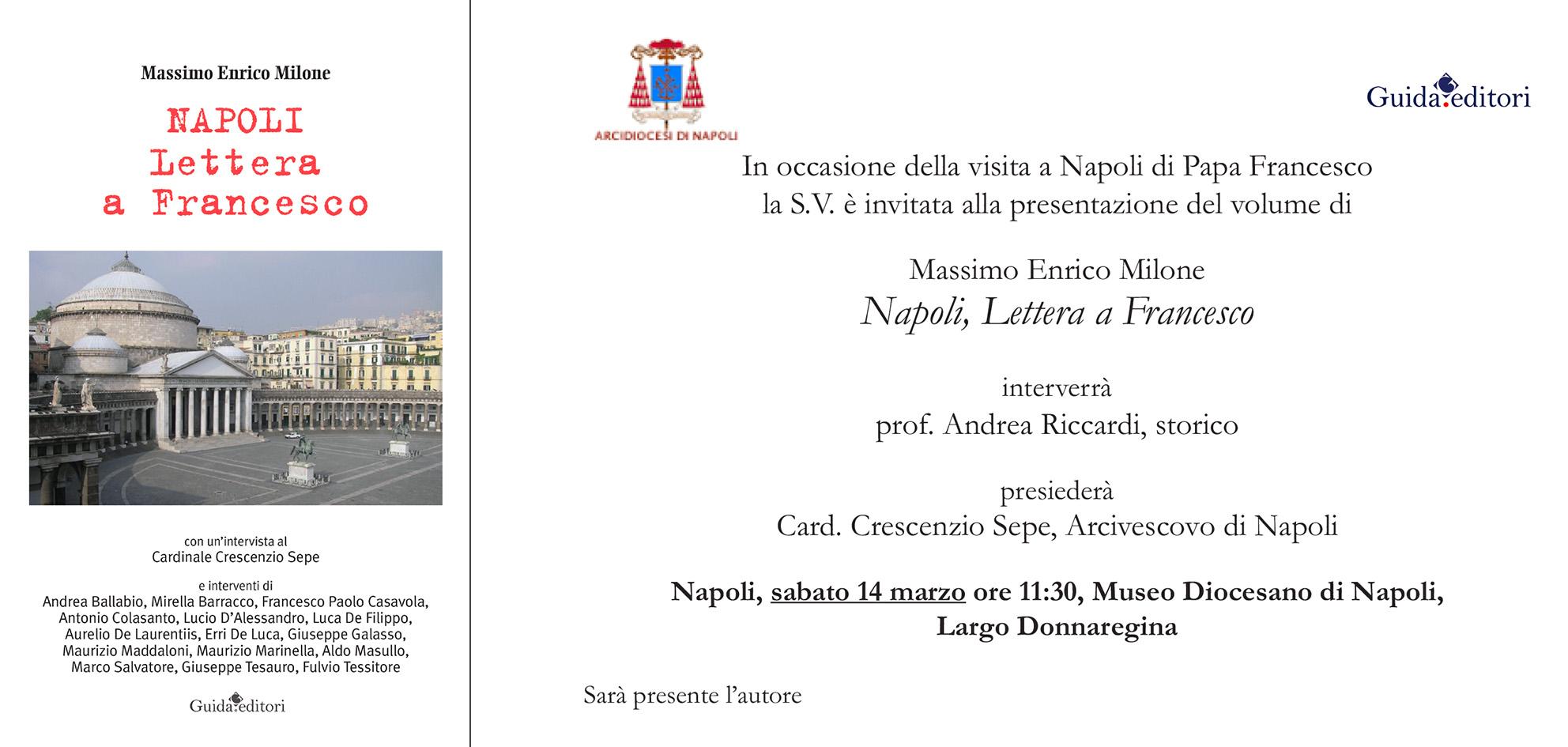Lettera a Francesco, aspettando la visita del Papa