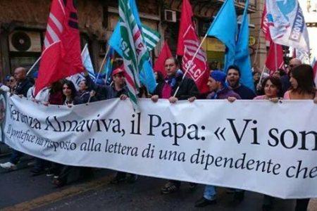 """Almaviva, il sindacato: """"Bene la commessa Wind, ma la lotta non è finita"""""""