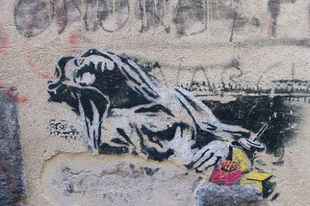 Napoli: unica città italiana ad ospitare i capolavori dello street artist Banksy