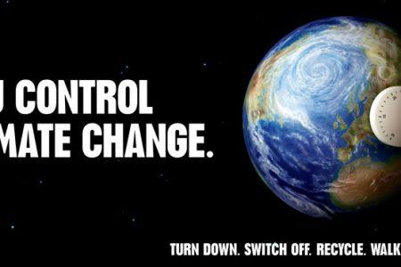 Un'ora al buio per salvare la terra dai cambiamenti climatici