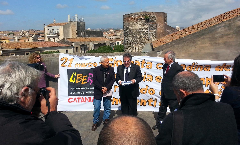 Vittime della mafia, Catania in pista per ospitare la manifestazione di Libera