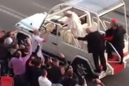 Per il Papa a Napoli una pizza al volo…