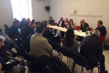 Vertice con De Luca, i programmi per la Regione
