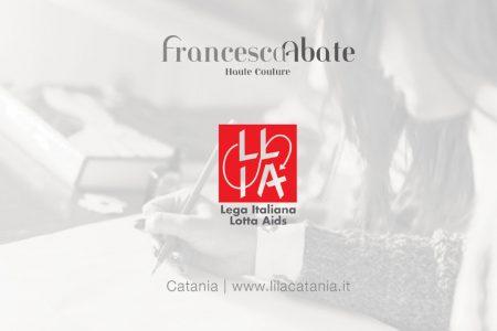 Francesca Abate: moda e lotta all'Aids, binomio inedito alla prima della giovane fashion designer catanese