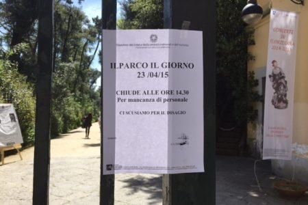 """Vomero: villa Floridiana chiude per """"mancanza di personale"""""""