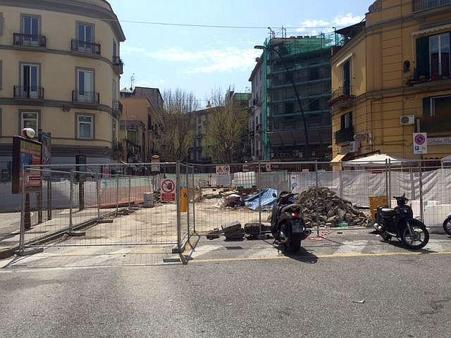 Vomero, via Luca Giordano: i 100 giorni del cantiere infinito