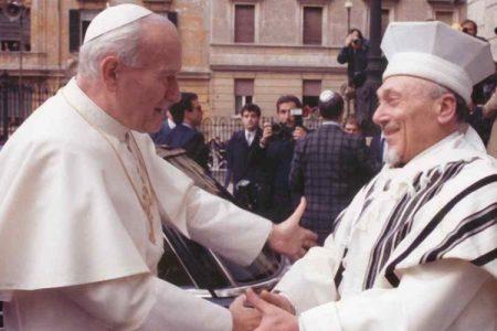"""Fabrizio Gallicchi: """"Quella visita di Papa Wojtyla nella sinagoga, una lezione ancora attuale…"""""""