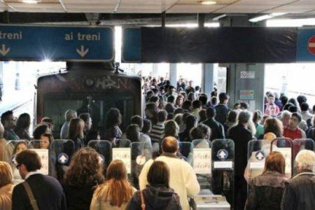 Napoli-Pompei, carro-merci Circumvesuviana