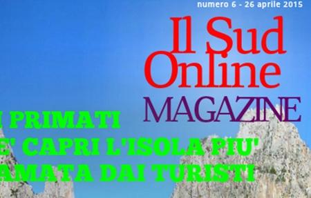 06 – Il Sud On Line Magazine – I primati di Capri, l'emergenza agrumi in Sicilia, l'intervista a Aldo Cazzullo