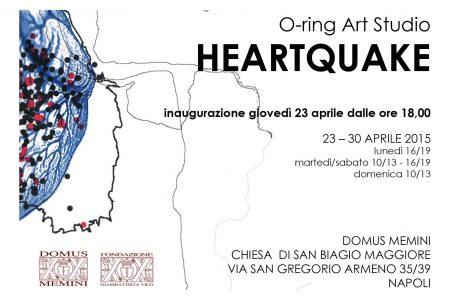 Heartquake di O-ring Art Studio, arte e scienza in mostra