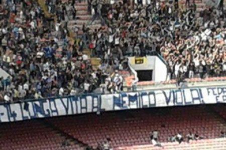 Napoli-Fiorentina, questa volta lo striscione è un segno di civiltà