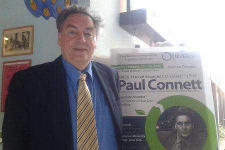 """L'esperto Paul Connett: """"La rivoluzione Zero-Rifiuti può partire dai cittadini"""""""